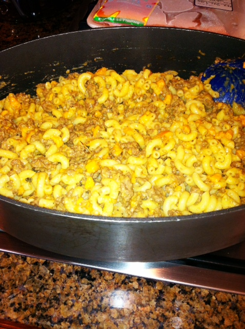 Better For You Cheeseburger Mac2