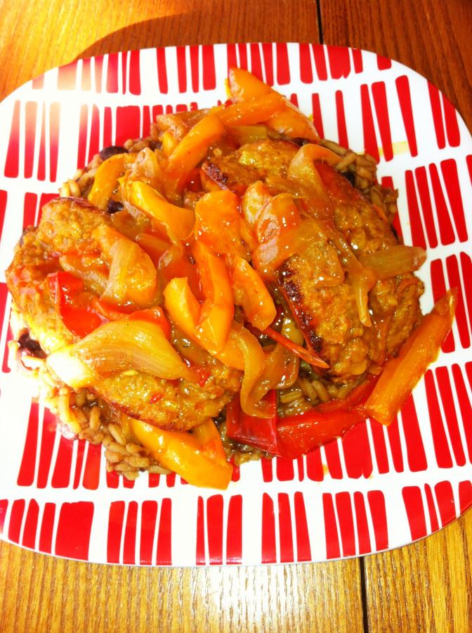 Braised Chorizo