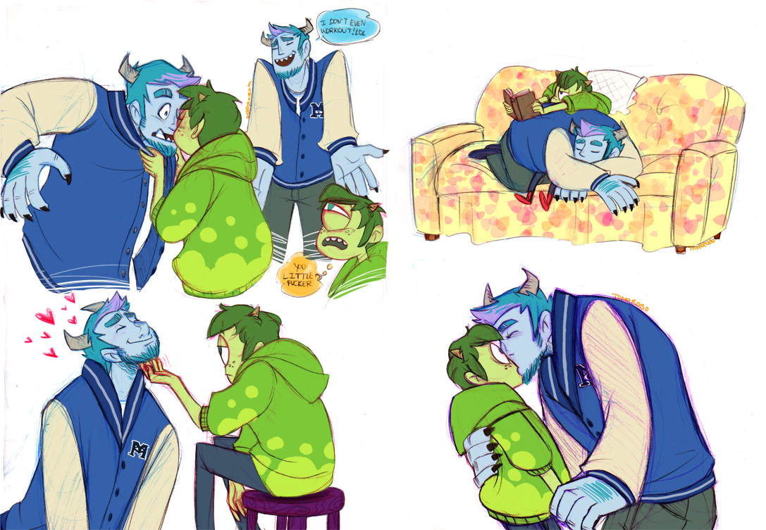 Superb Some Sulley/Mike Because These Two Are Such Cuties. I Realized Later Iu0027