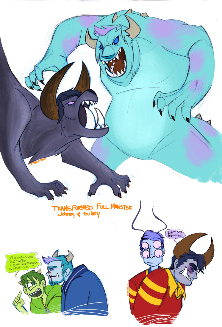 Monsters Inc Humanized