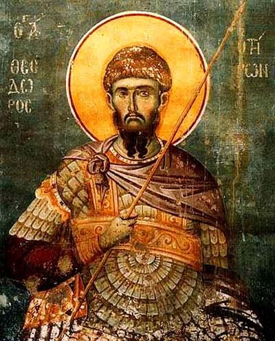 Sfantul-Mucenic-Teodor-Tiron-icoana