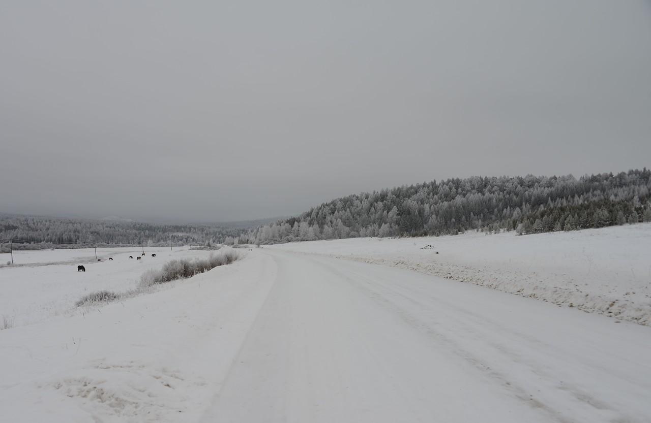 Бугульдейка зимой