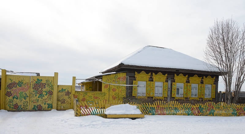 Тургеневка - белорусская деревня в Сибири