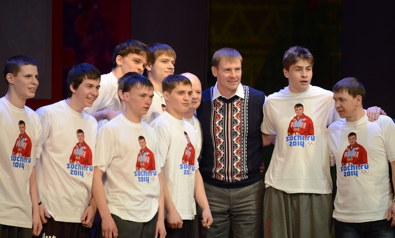 Встреча олимпийского чеспиона Александра Зубкова с братчанами