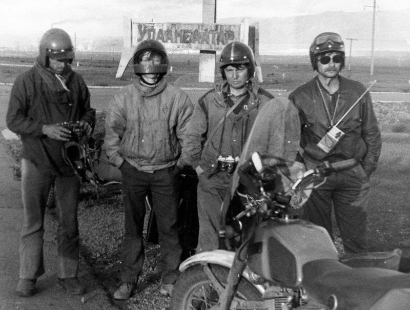 Мотопробег Братск-Гоби-Братск 1990 год