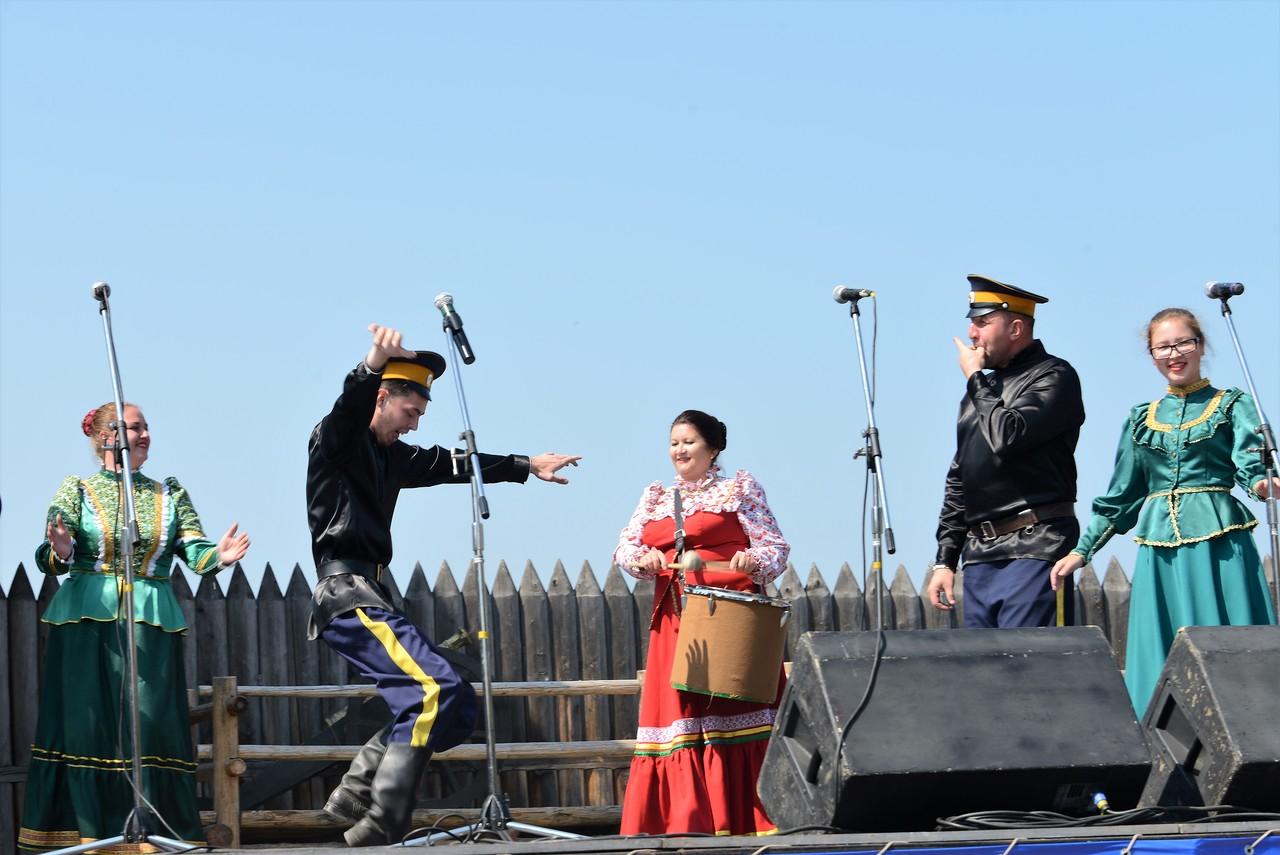 Казачий круг в Иркутске