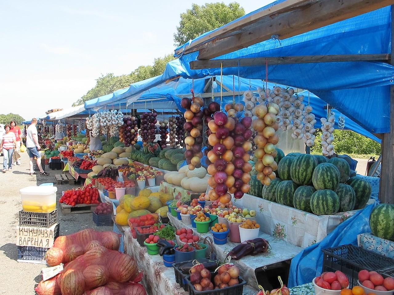 Придорожные рынки Приморья