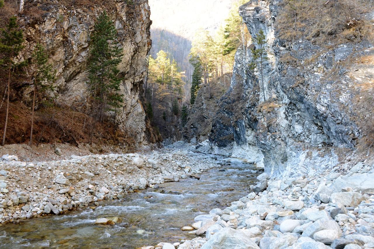 Вода и камни Аршана