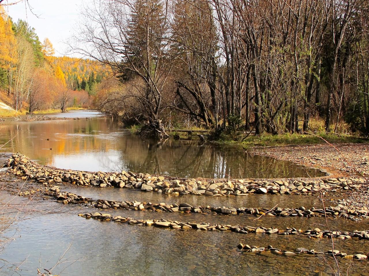 Осень на реке Ушаковка