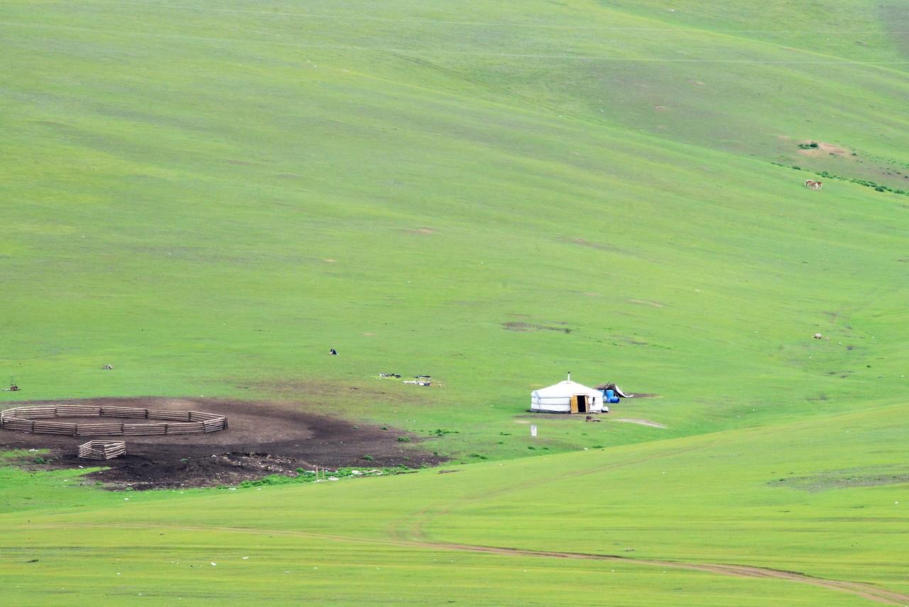 Вновь в Монголии