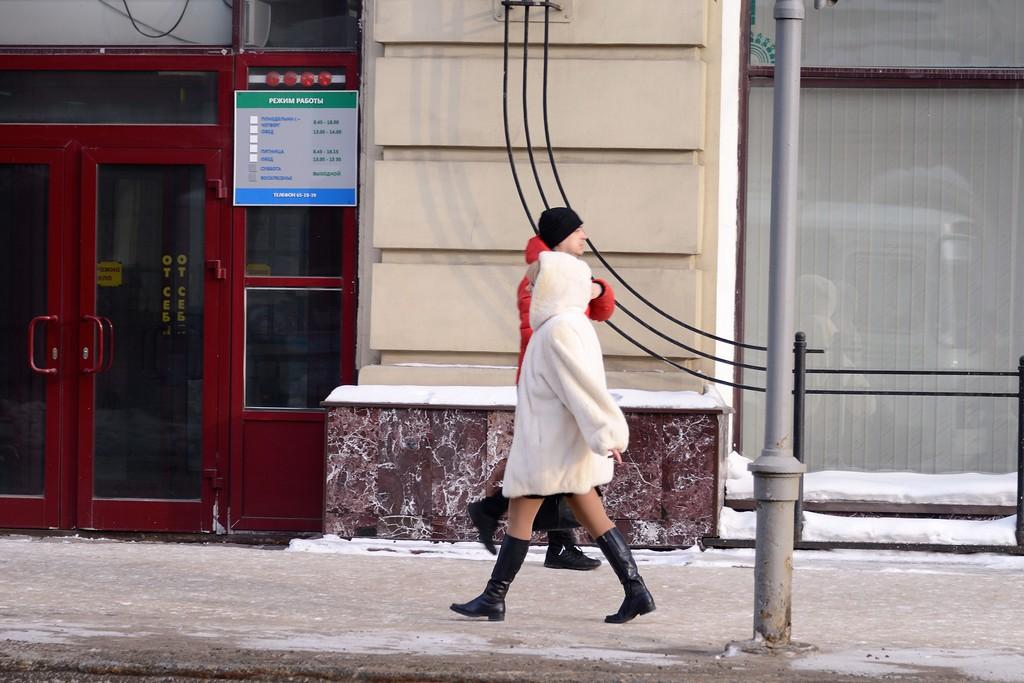 Зимний Томск
