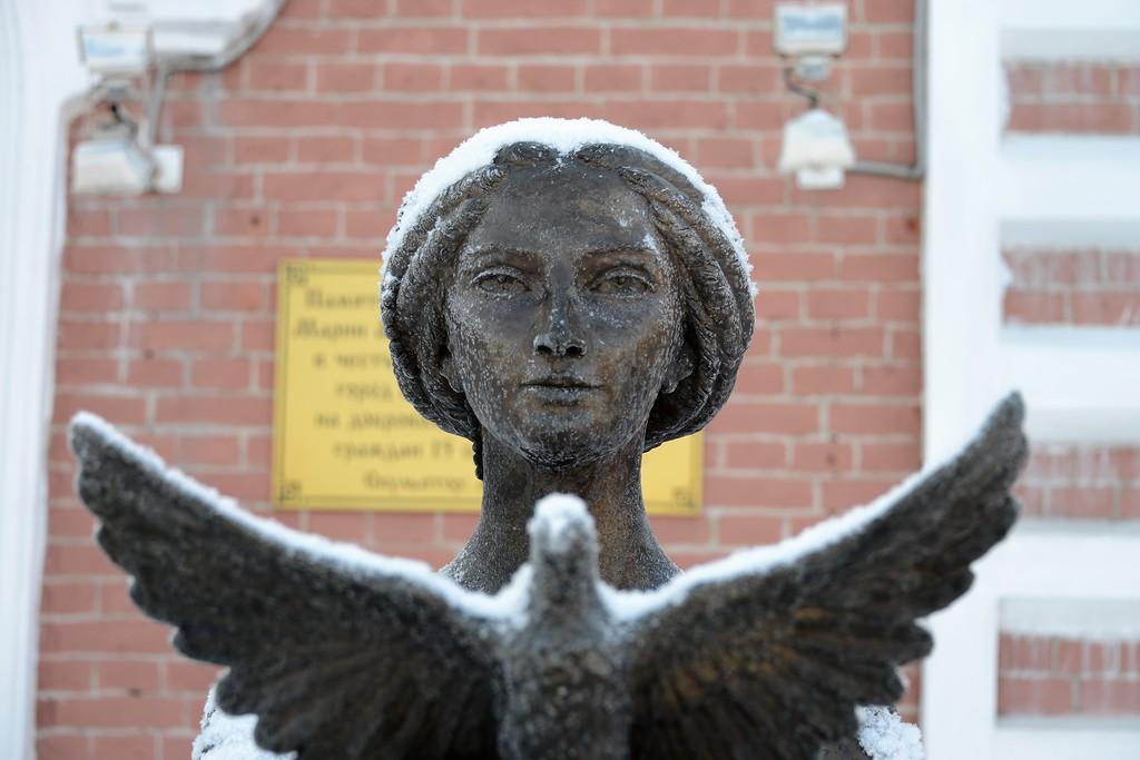 Зимний Мариинск