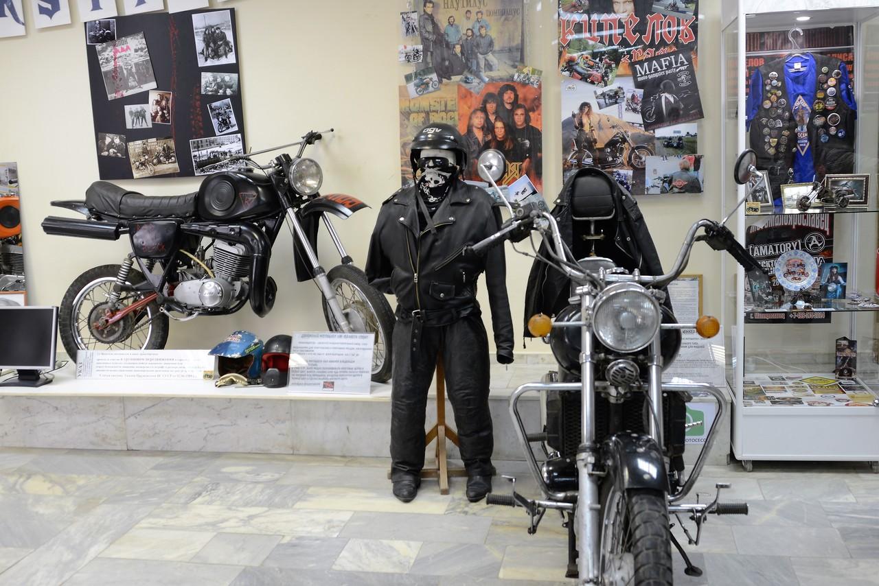 Мотовыставка в Ижевске