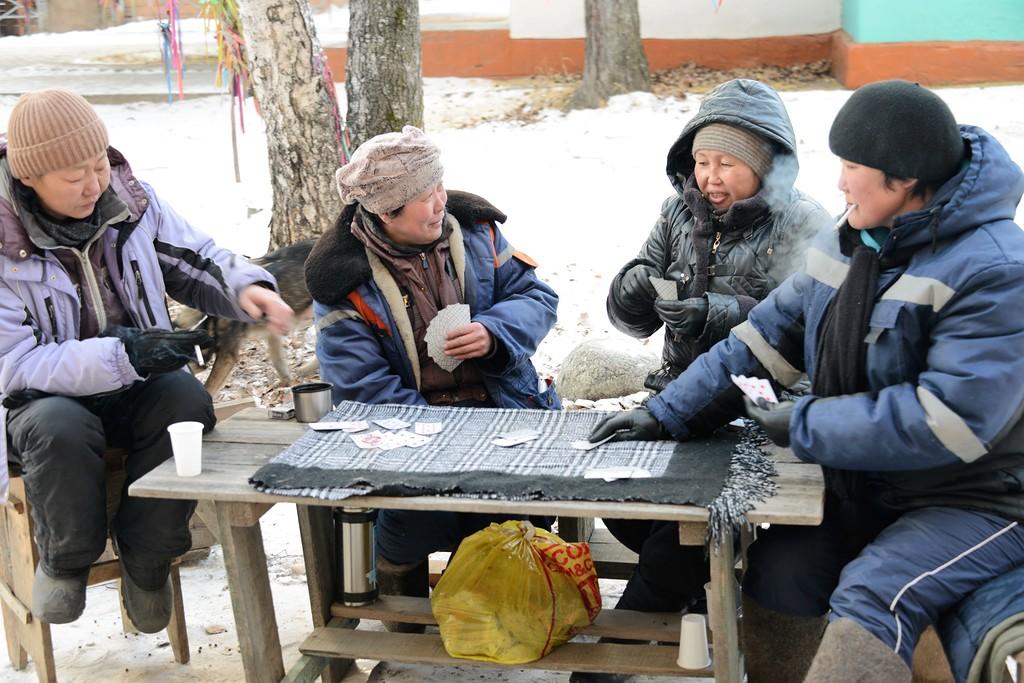 Встречая зиму