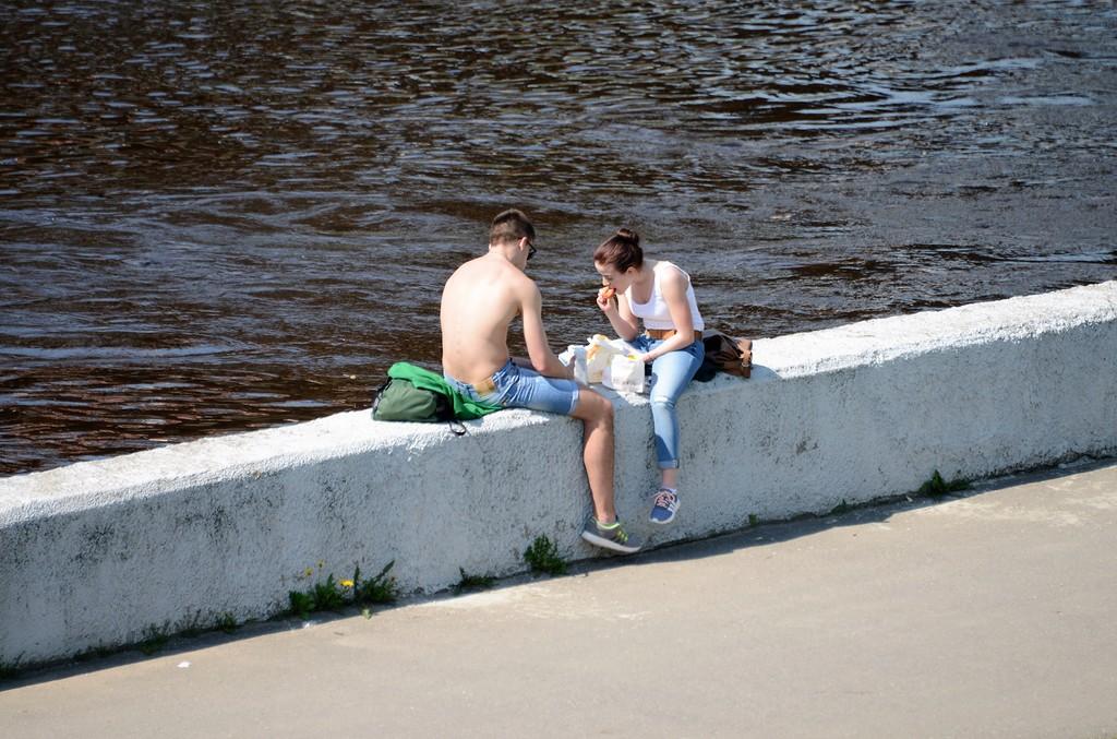 Витебск в мае