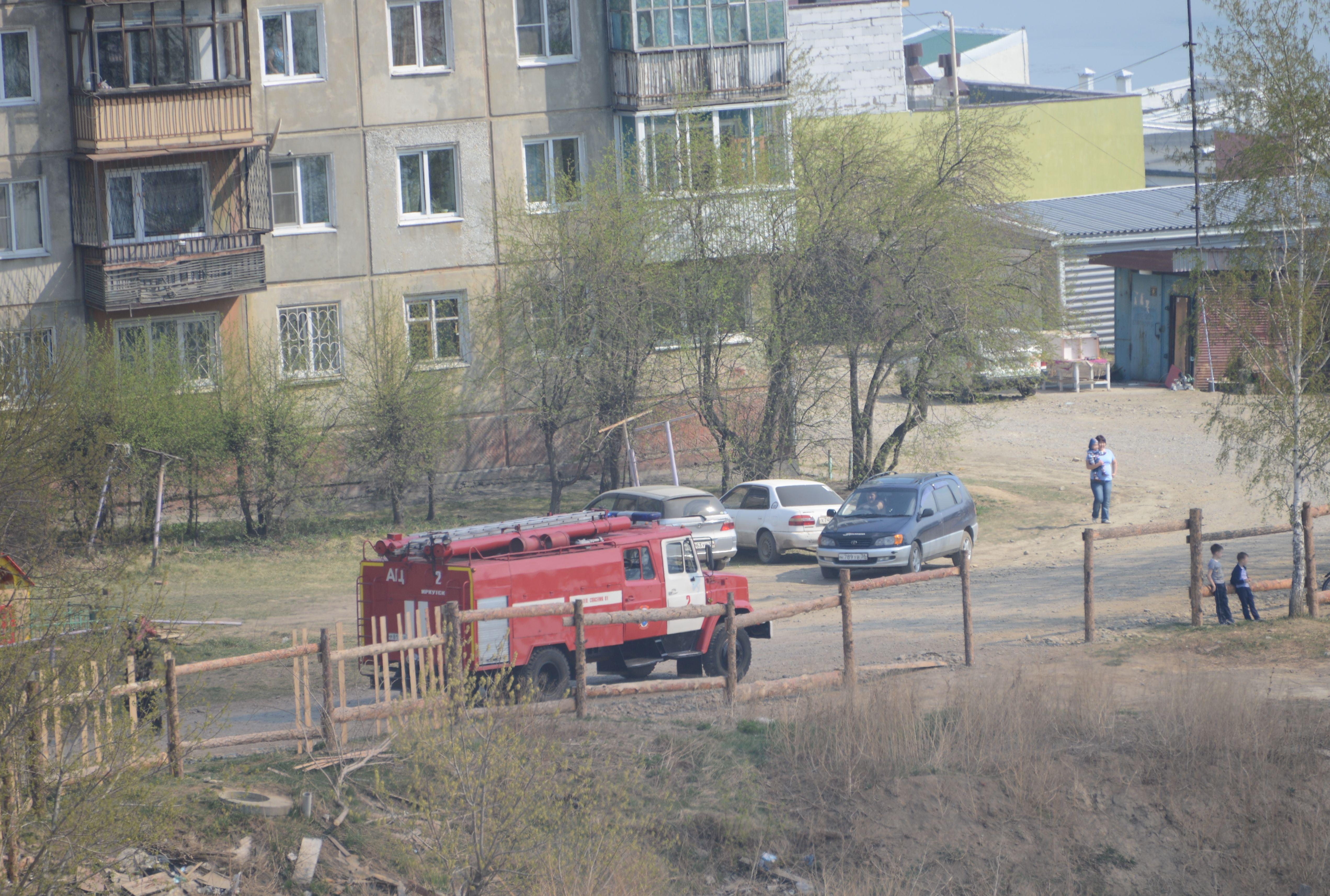 Пожар на набережной