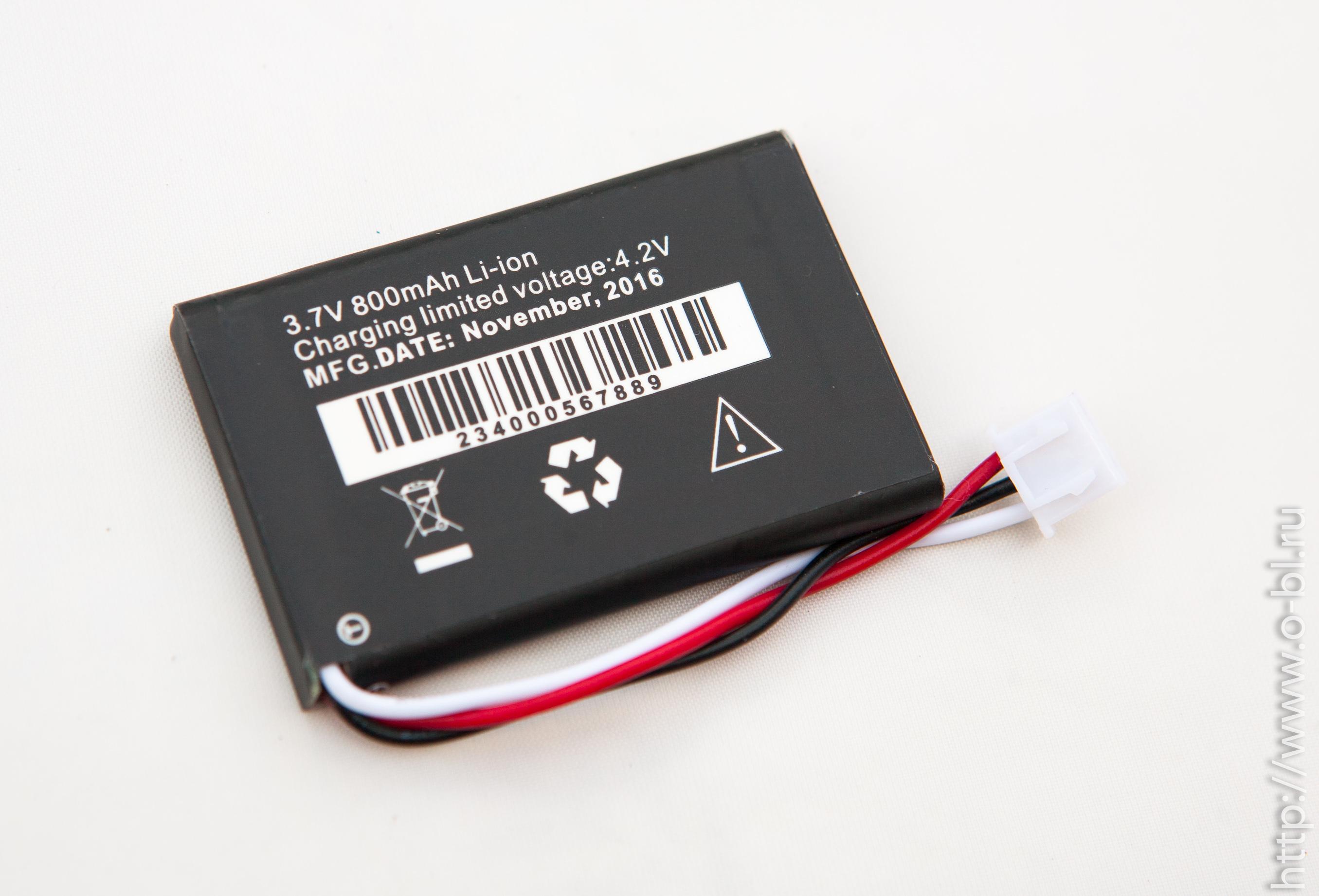 Дата производства аккумулятора - Ноябрь 2016, что говорит о том, что аккумулятор свежий, и товар не лежал на складе годами, как это бывает в некоторых гипермаркетах.