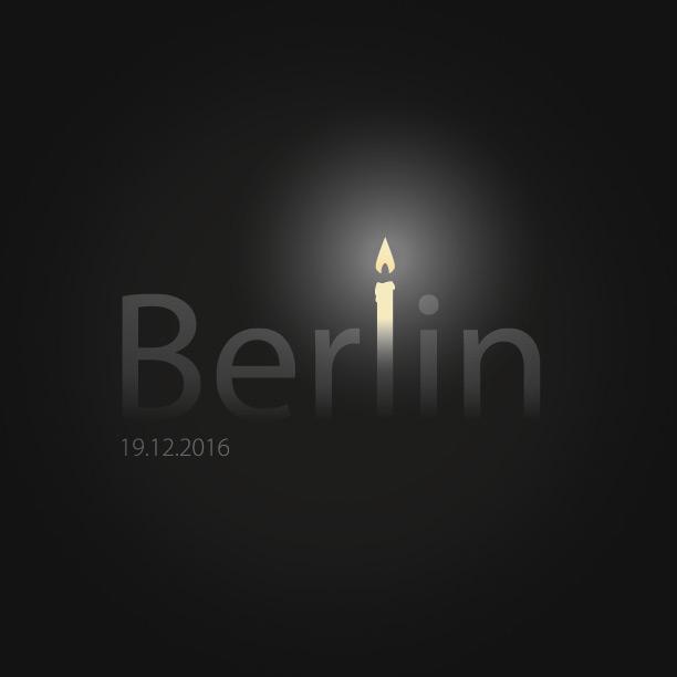 Berlin-Kerze