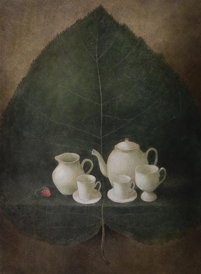 сервиз для зеленого чая - копия