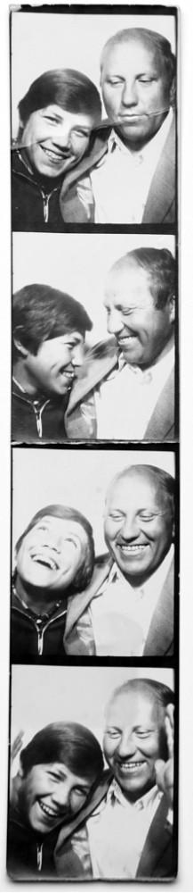 Олег Кувшинников с отцом