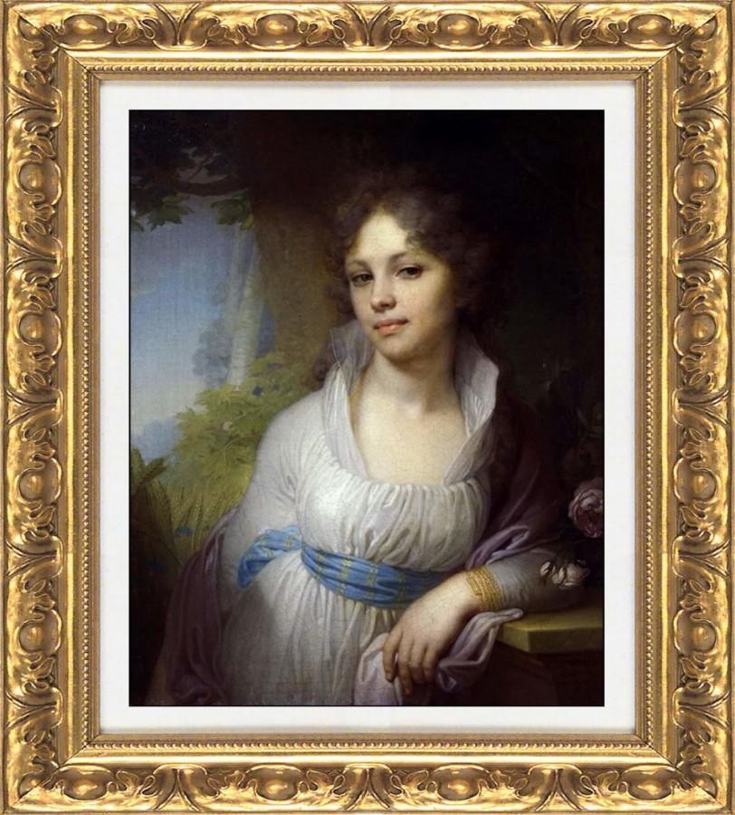 портрет Марии Лопухиной В. Боровиковского