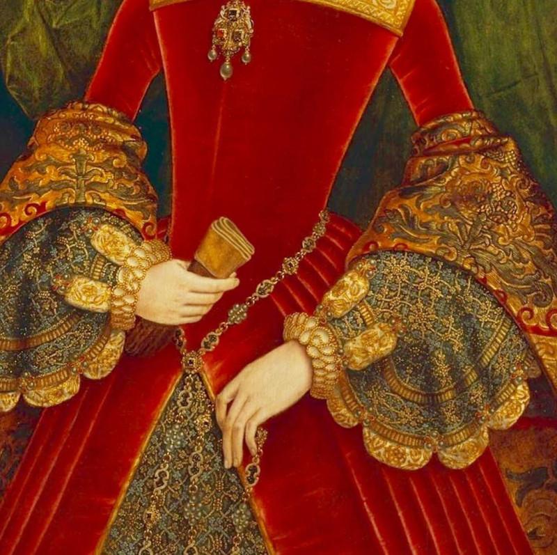 Ганс Юорт-портрет женщины в возрасте шестнадцати лет, ранее идентифицированной как Мэри Фитцалан, герцогиня Норфолкская, 1565 год