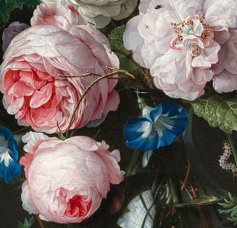 Jan Davidsz. de Heem нидерландский художник и сын художника Давида де Хеема. Предположительно, ученик Бальтазара ван дер Аста