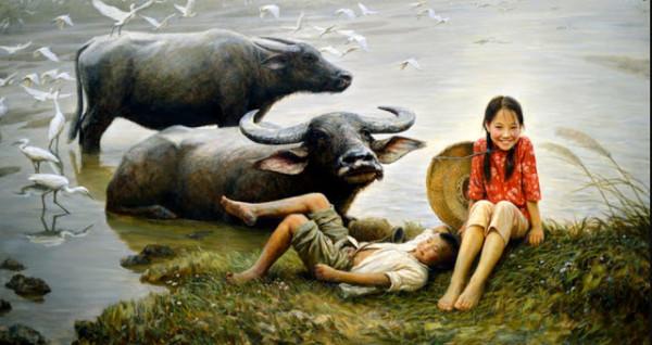 Китайский художник Li Zi Jian