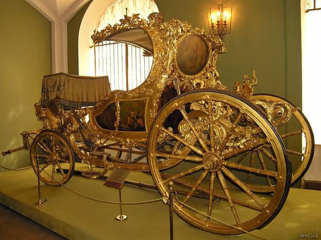 Экипаж  - 1770г Англия - Оружейная палата  Москвы