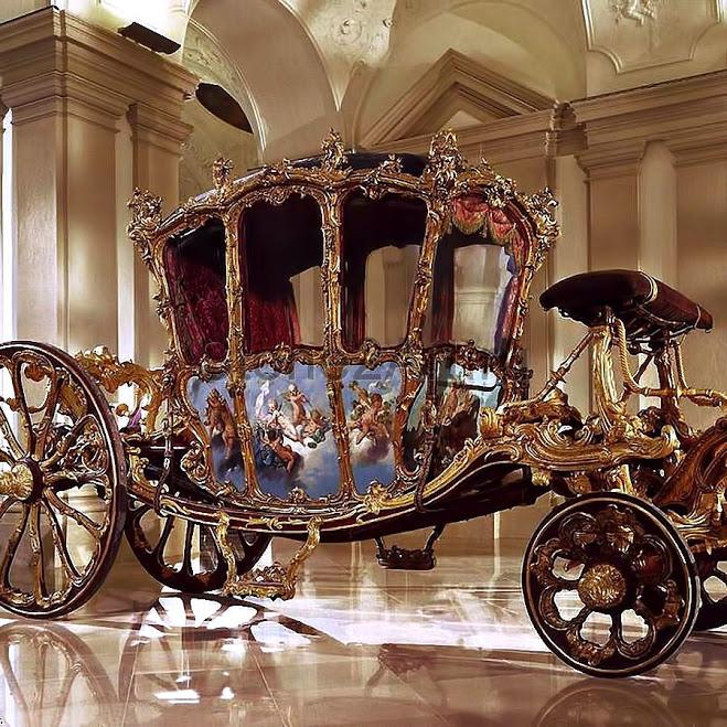 Золотая карета князя Франца Иосифа I