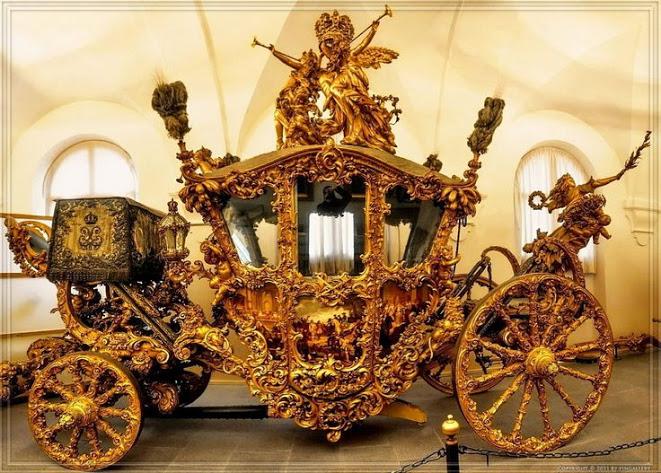 Парадная карета в стиле рококо, принадлежавшая Людвигу II