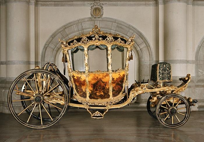 Карета шведского короля Густава III