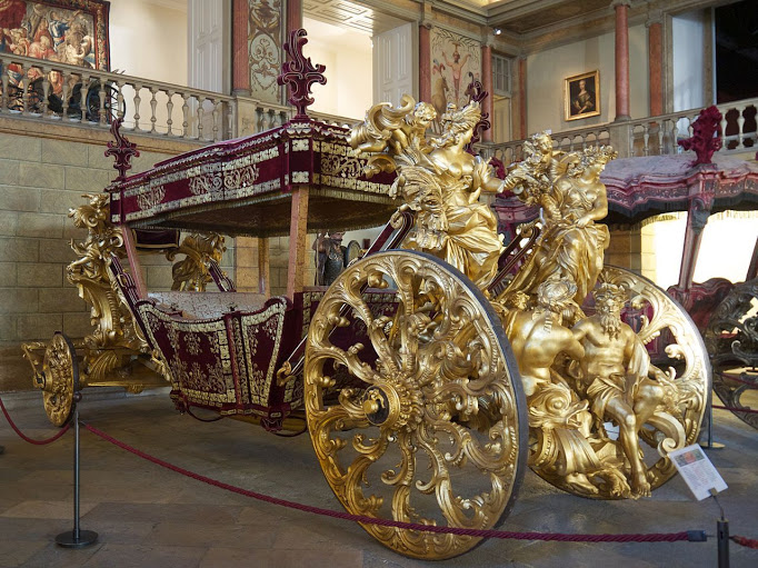 Национальный музей карет в Лиссабоне, Португалия.