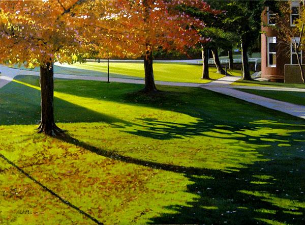 """""""Старое главное дерево"""" холст, масло, 100 x 81 см"""