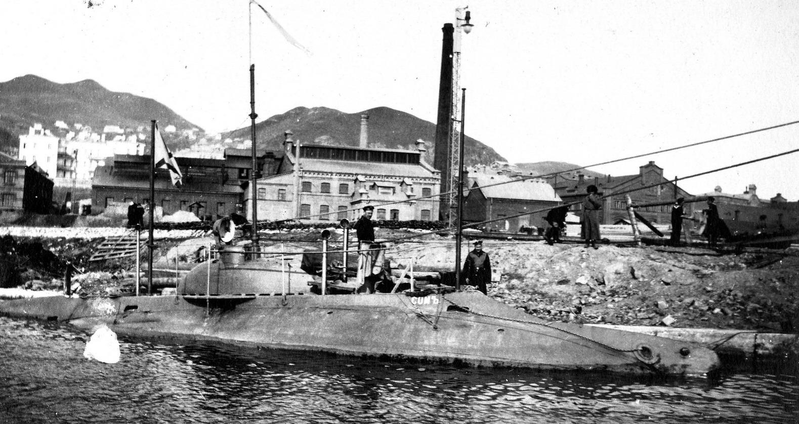 подводная лодка сом 1904