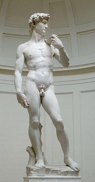 Конец Давида David_von_Michelangelo