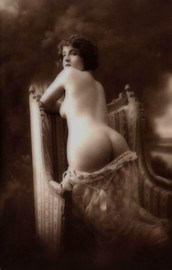 старинная эротическая фотография