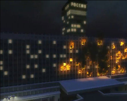 Image result for гостиница россия после пожара