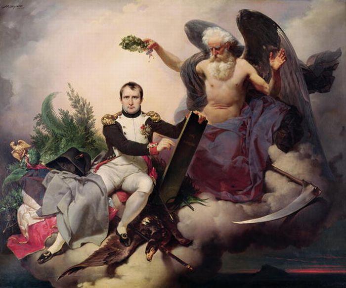 Napoleon_by_Jean_Baptiste_Mauzaisse