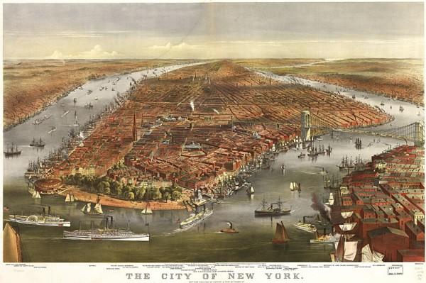 Невероятные приключения русских в Америке 1870newyork