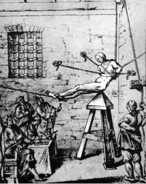 Садо мазо пытки женщин дыба