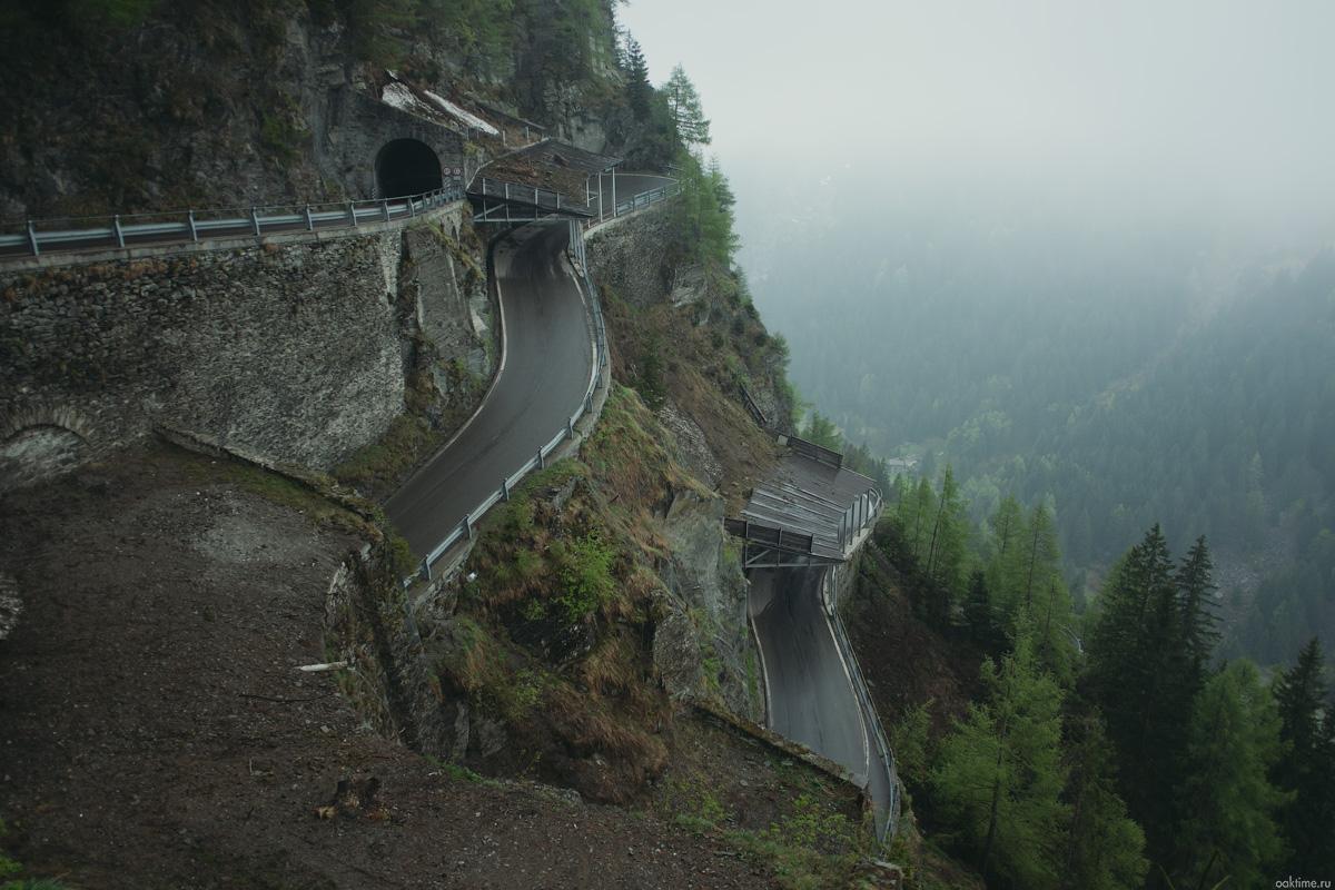 Я видел Альпы. Рассказ о велопоходе с придорожными фотографиями