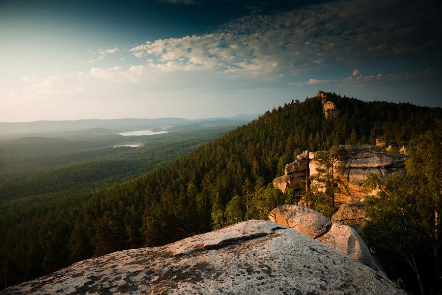 Россия горные районы   ландшафты Аракульский Шихан