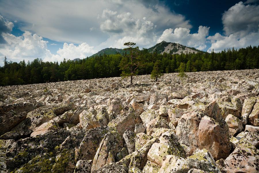каменная река таганай фото российском