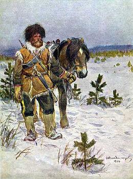 260px-Владимиров_Сибирский-казак_1916