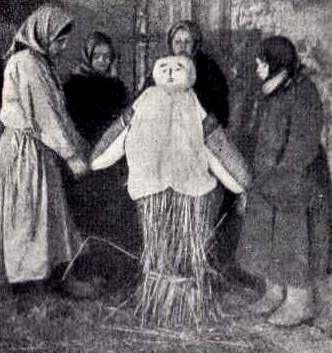 Чучело Масленицы.Советская этнография,1936,н.2,с.107
