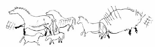 Первобытный рисунок 2