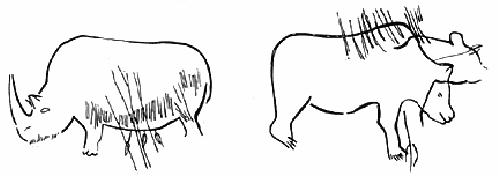 Первобытный рисунок 3