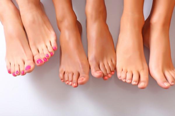 Сексуальные пальцы ног