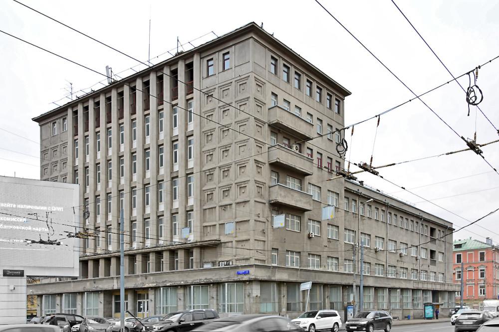 Архитектурный обмер фасада